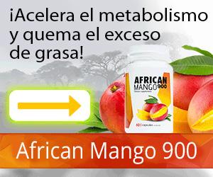 AfricanMango900 - pérdida de peso